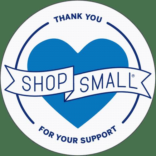 shop small button