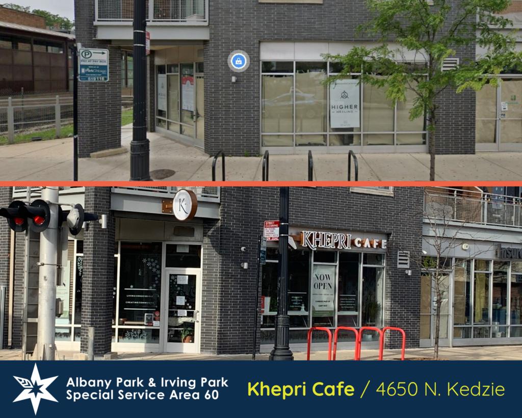 Khepri Cafe, 4650 N Kedzie