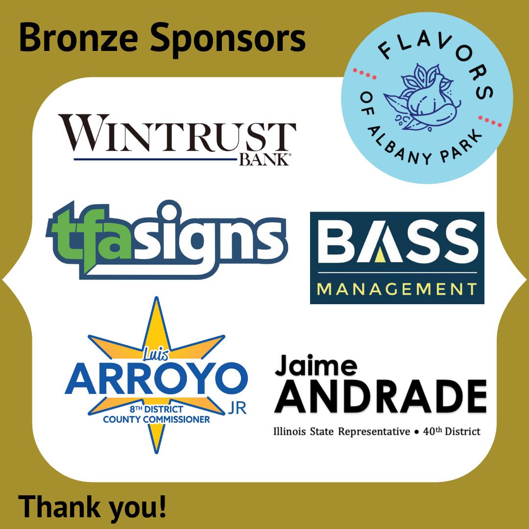 Flavors 2021 Bronze Sponsors